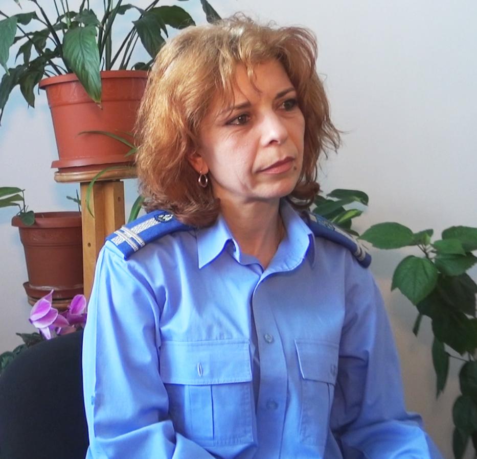 Elena Popa - ofiter psiholog IJJ Olt