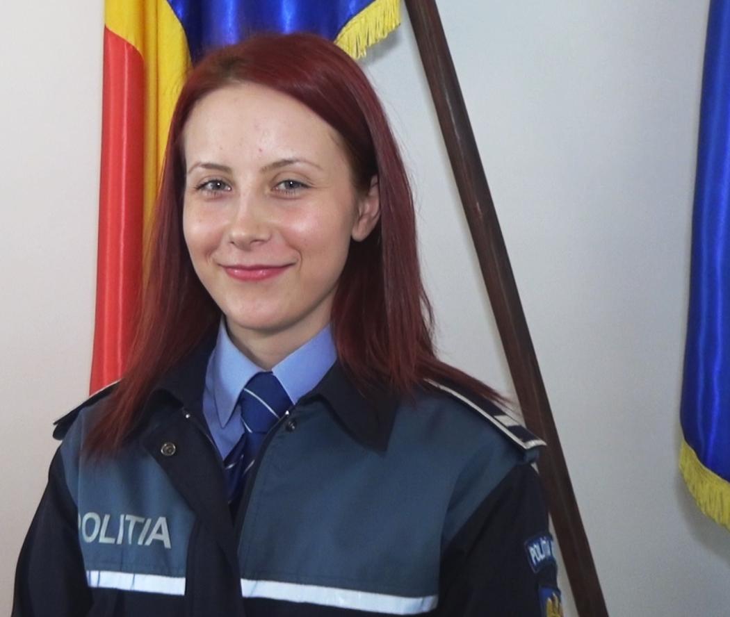 Georgiana Olteanu - agent de politie Vitomiresti